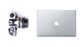 cámara de foto y mac